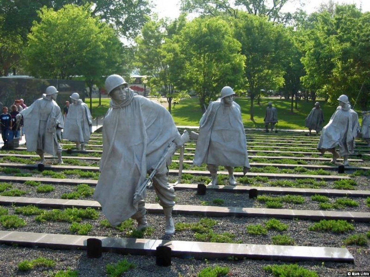 Εικ. 16. The Korean War Veterans Memorial, Washington 1995.
