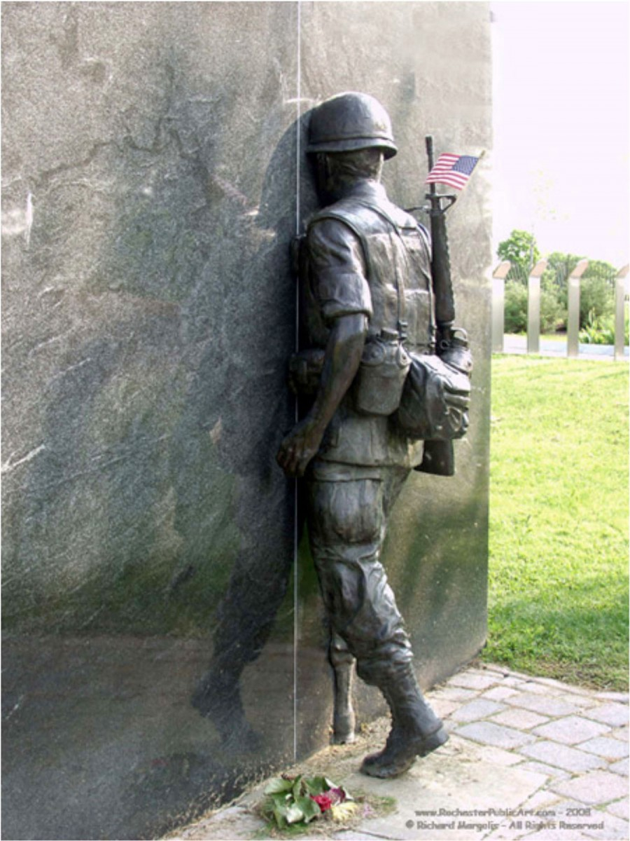 Εικ. 2. Vietnam War Memorial, by William Yager, Νέα Υόρκη 1994.