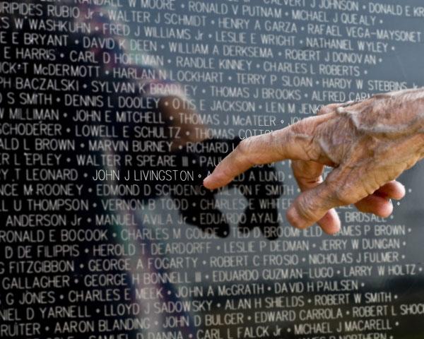 Εικ. 20. Vietnam Veterans Memorial, Washington. Ο σχετικός διαγωνισμός έγινε το 1982 και είχε 1.421 συμμετοχές.