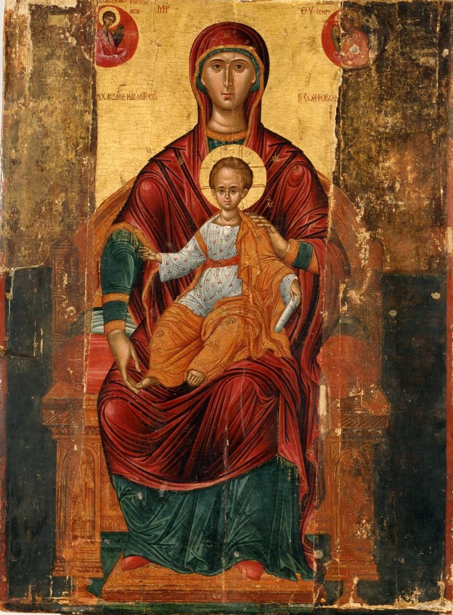 «Παναγία Βρεφοκρατούσα», Μουσείο Ζακύνθου