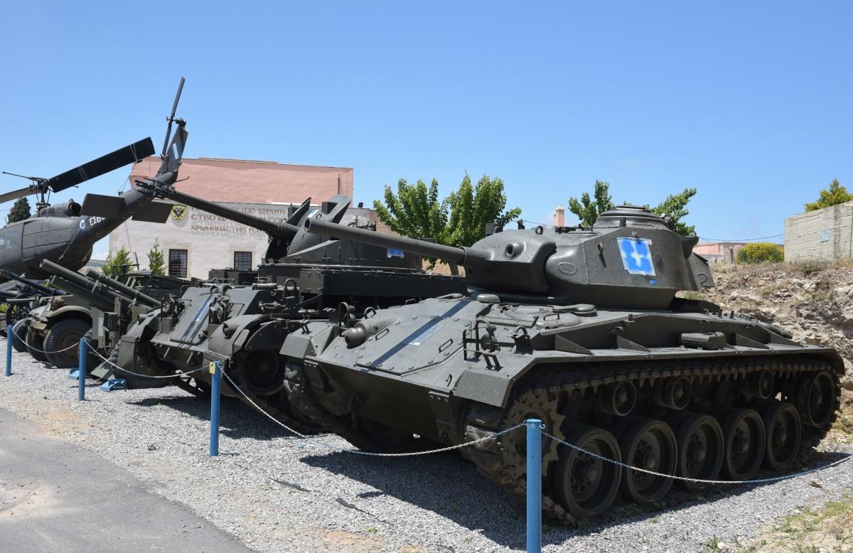 Άρμα Bofors M-42, Στρατιωτικό Μουσείο Ρεθύμνου