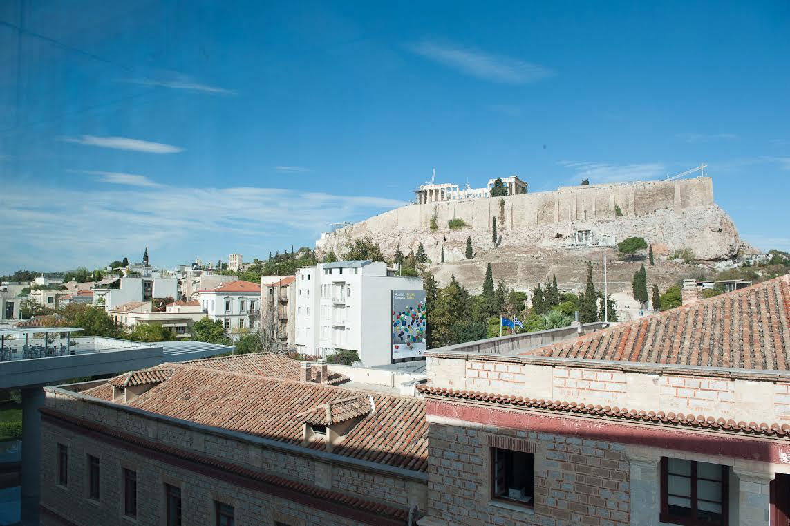 Άποψη του Βράχου της Ακρόπολης των Αθηνών (Νότια πλευρά).