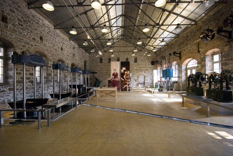 Μουσείο Βιομηχανικής Ελαιουργίας Λέσβου.