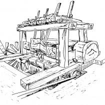 Μαντάνι, νεροπρίονο, λιοτρίβι: τρεις υδροκίνητες μηχανές