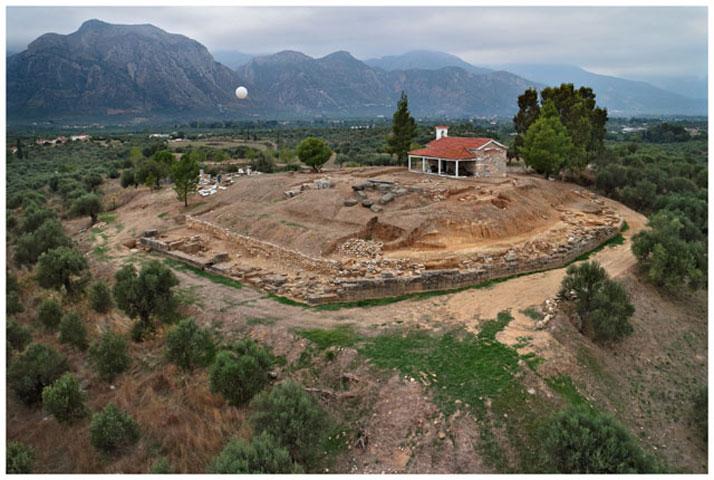 Άποψη της ανασκαφής του ιερού του Αμυκλαίου Απόλλωνα (φωτ. ΥΠΟΠΑΙΘ).