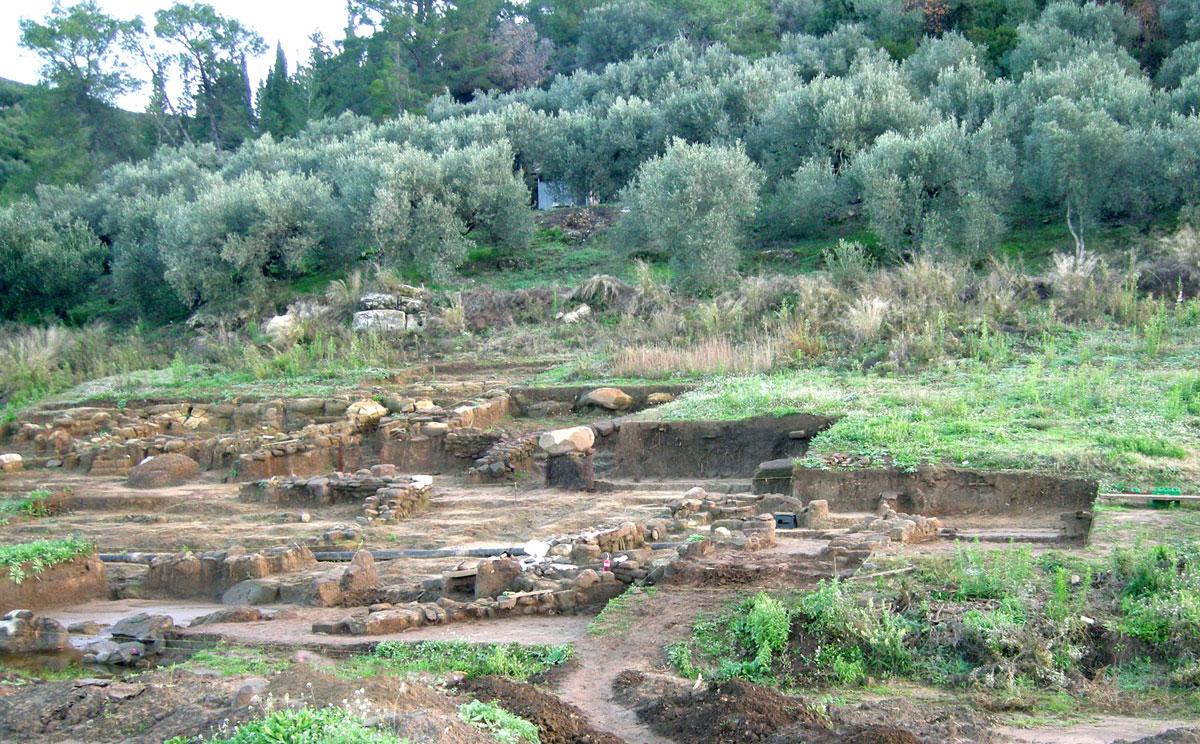 Συγκρότημα Αγροικίας (φωτ. Εφορεία Αρχαιοτήτων Άρτας).