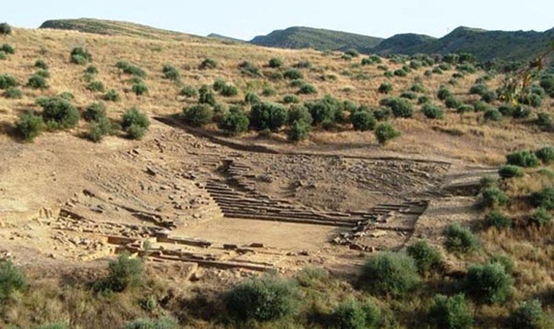 Το αρχαίο θέατρο της Καλυδώνας (φωτ. «Διάζωμα»).