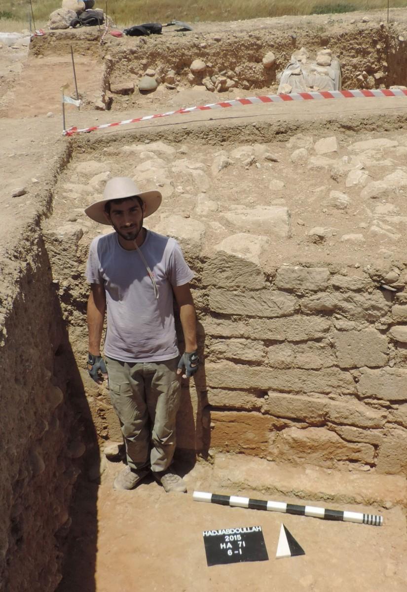 Κούκλια-Παλαίπαφος: το τείχος και οι δευτερεύοντες τοίχοι διατηρούνται σε εντυπωσιακό ύψος, που κυμαίνεται από ένα ως ενάμισι μέτρο (φωτ. Τμήμα Αρχαιοτήτων Κύπρου).