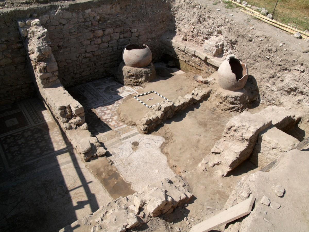 Εικ. 21. Παλαιοχριστιανική φάση (4ος-5ος αι. μ.Χ.).
