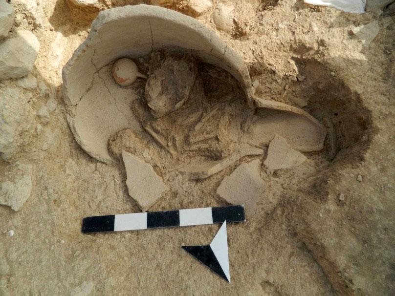Εικ. 10. Πήλινος ληνός – ταφικό αγγείο του Ταφικού Κτιρίου 3.