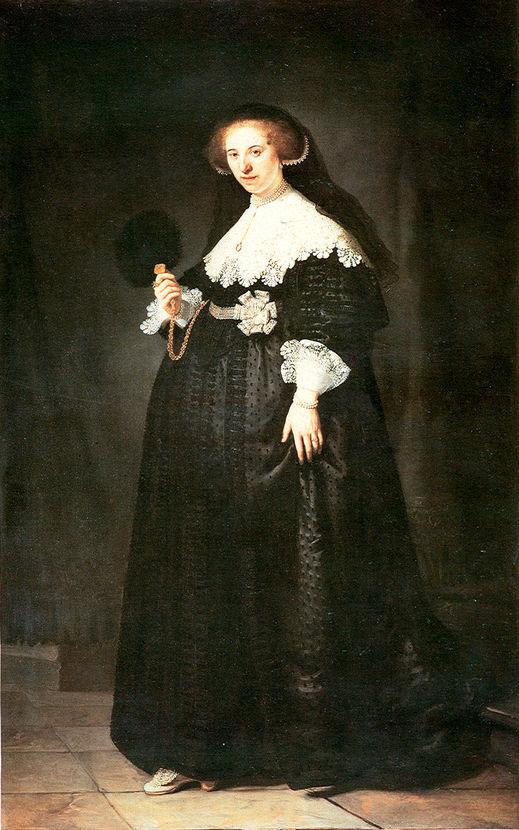 Ρέμπραντ, «Πορτρέτο της Όπγιεν Κόπιτ», 1634. Ιδιωτική Συλλογή.