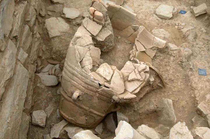 Από την ανασκαφή στο συγκρότημα της Ζωμίνθου (φωτ. ΥΠΟΠΑΙΘ).