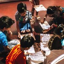 Τα παιδιά στο Μουσείο Κυκλαδικής Τέχνης