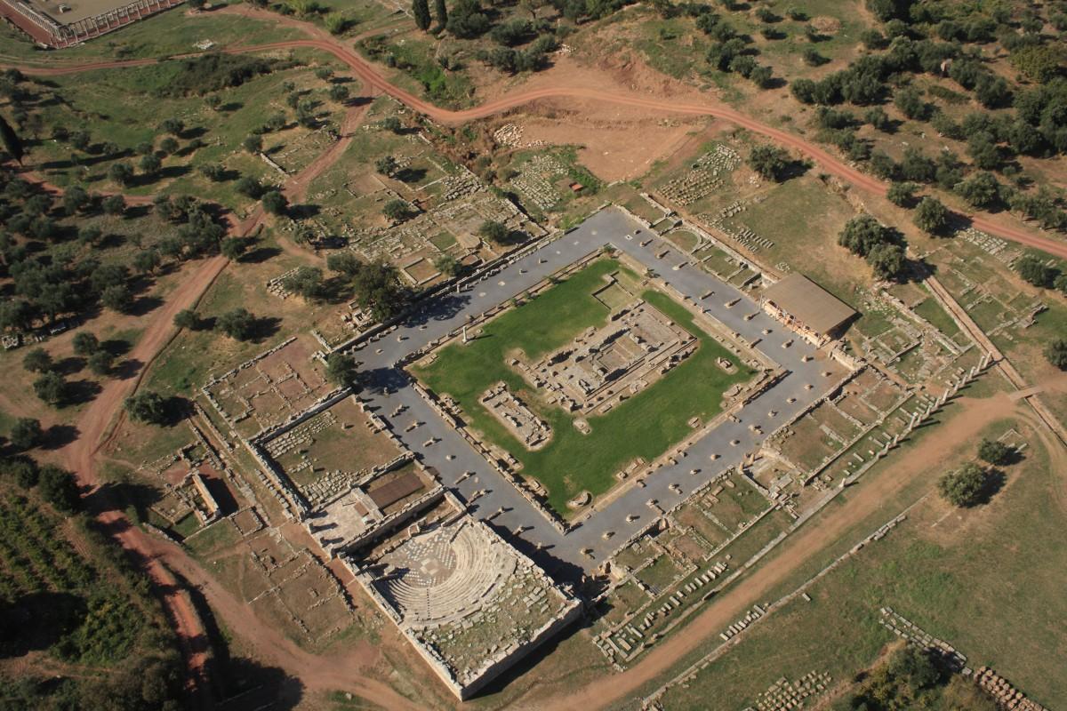 Αρχαία Μεσσήνη, το Ασκληπιείο.