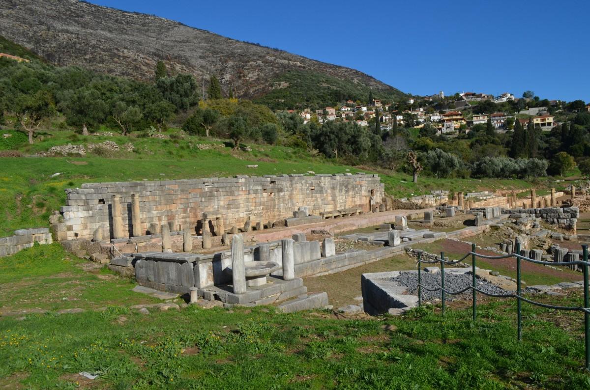 Αρχαία Μεσσήνη, η Κρήνη Αρσινόη.