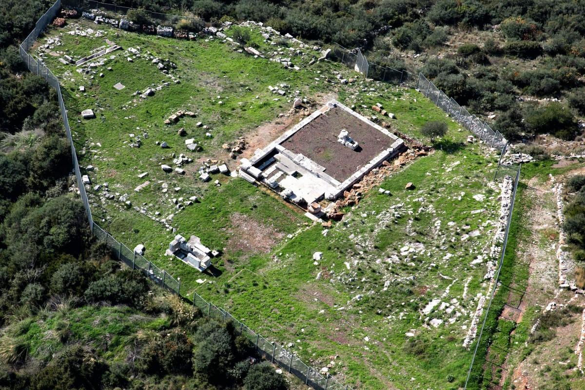 Αρχαία Μεσσήνη, το ιερό της Αρτέμιδος Λιμνάτιδος.