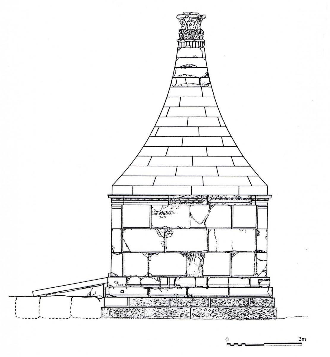 Αρχαία Μεσσήνη, το ταφικό μνημείο Κ3.