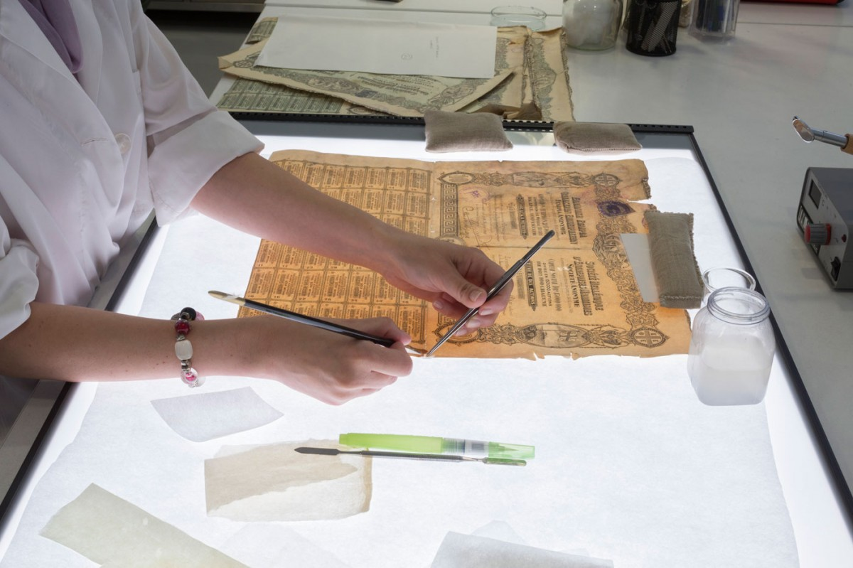 «Ζητήματα διάγνωσης και συντήρησης χαρτώου υλικού», ημερίδα στο Ιστορικό Αρχείο ΠΙΟΠ.