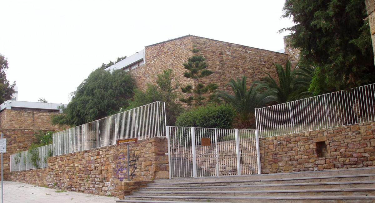 Εικ. 1. Η πρόσοψη του Αρχαιολογικού Μουσείου της Χίου επί της οδού Μιχάλων.