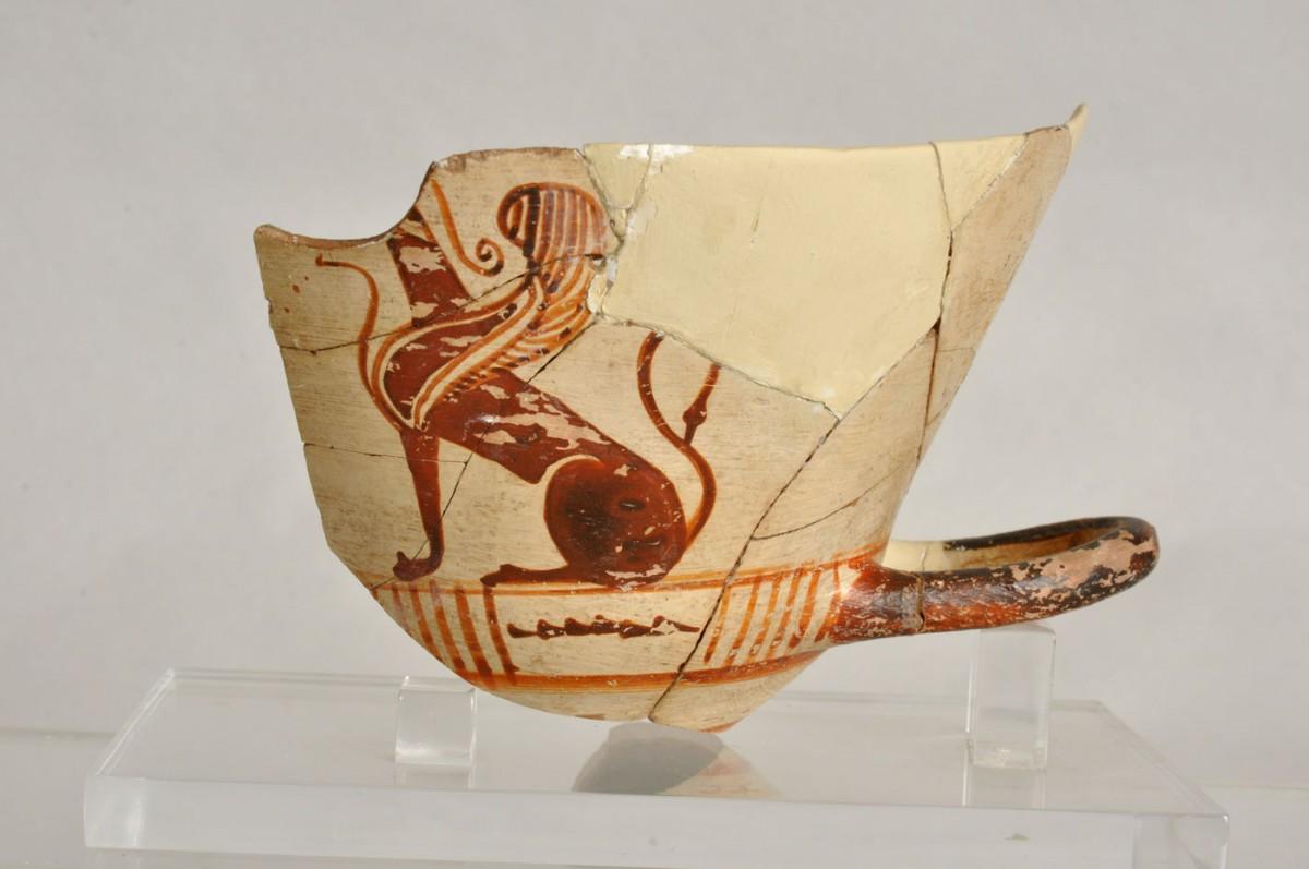 Εικ. 19. Κύλικα του ρυθμού των Κυλίκων. Περί το 570-560 π.Χ. Φανά.