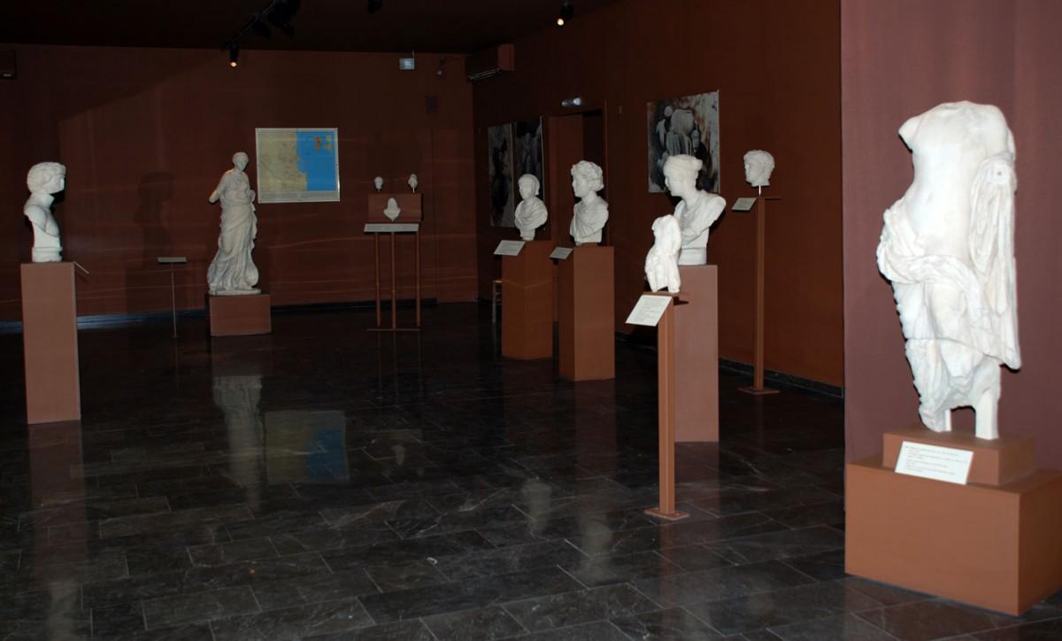 Εικ. 2. Αίθουσα ΙΙ – Συλλογή γλυπτών.
