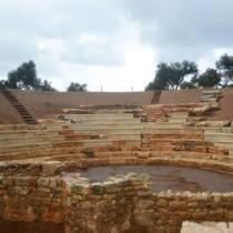 Ολοκληρώθηκαν οι εργασίες στο θέατρο της αρχαίας Απτέρας