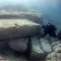 Νέα ευρήματα από την έρευνα στο λιμάνι του Λεχαίου