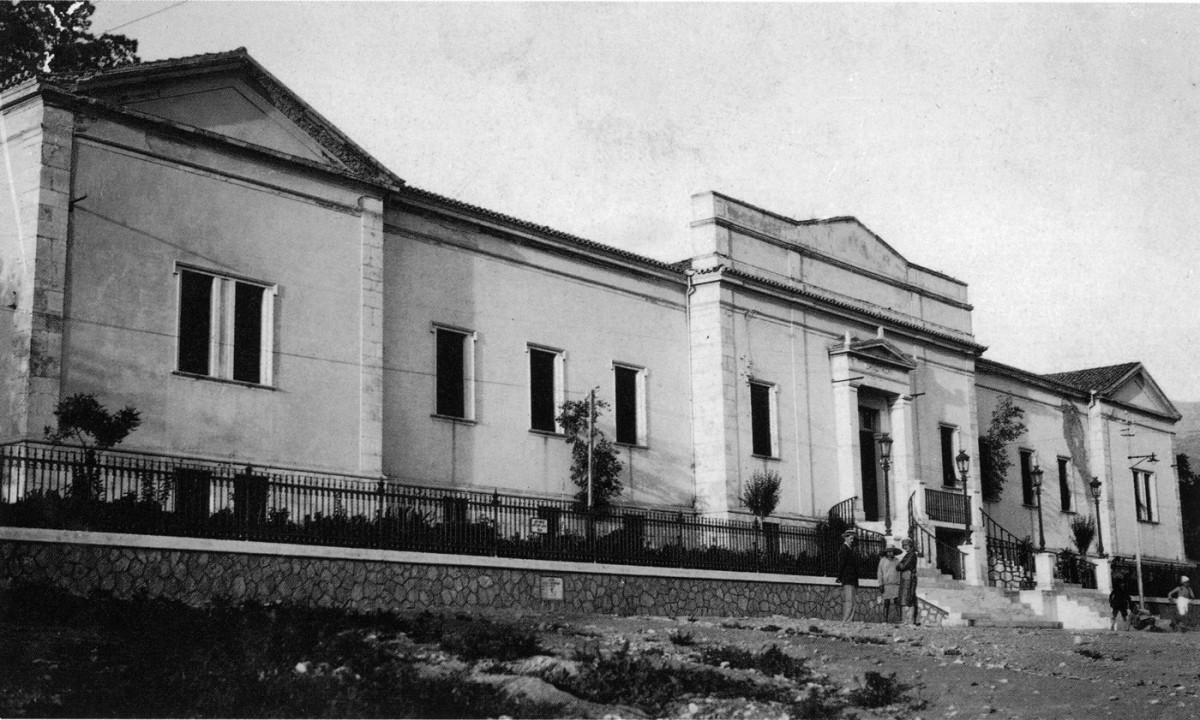 Εικ. 24. Το Δημοτικό Νοσοκομείο Πατρών, 1857-1872. Αρχιτέκτων: Christian Hansen (1803-1883).