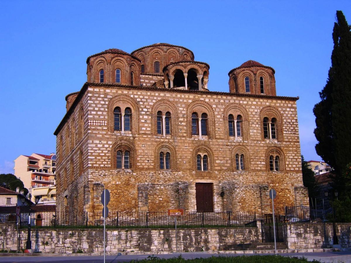 Ο ναός της Παρηγορήτισσας (Εφορεία Αρχαιοτήτων Άρτας).