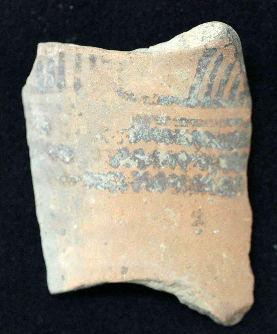 Εικ. 7. Δείγμα αμαυρόχρωμης ΙΙ κεραμικής.