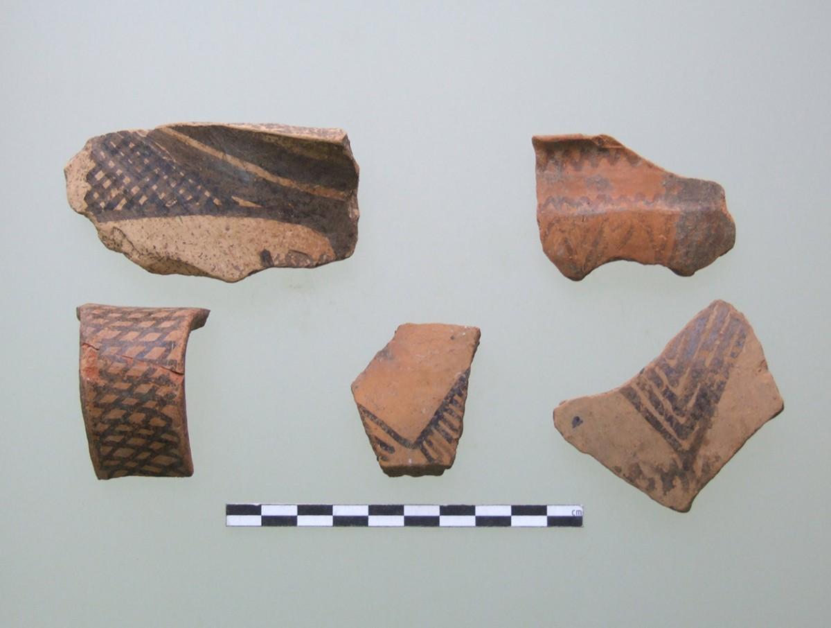 Εικ. 6. Δείγματα Αμαυρόχρωμης Ι από την Κρύα. (Πηγή: αρχείο συγγραφέα)
