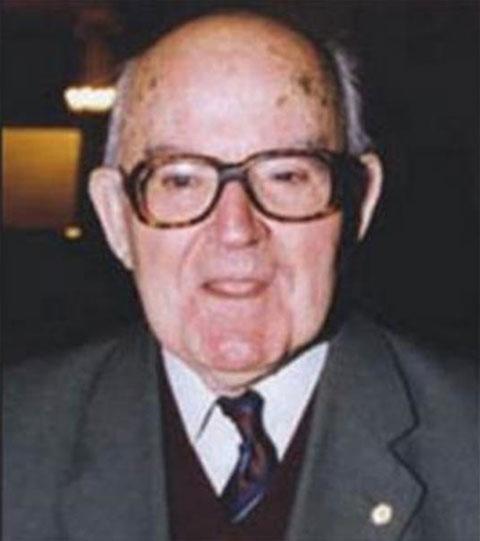 O Χρύσανθος Χρήστου (1922-2016).