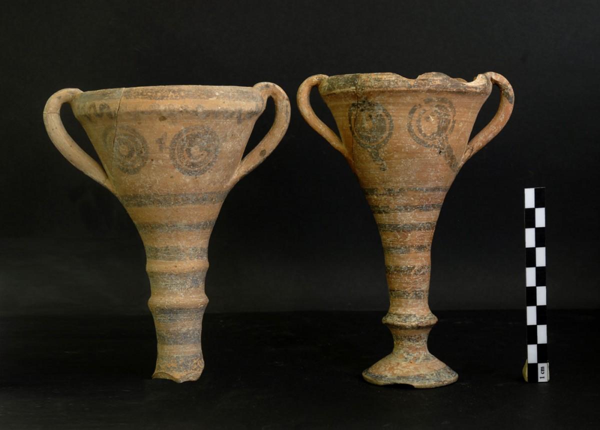 Ευρήματα από ταφή της Ύστερης Εποχής του Χαλκού στη θέση «Λογκάς» της Ελάτης.