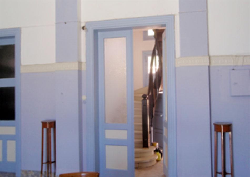 Εικ. 5. Κλιμακοστάσιο κεντρικού τμήματος κτιρίου (πηγή: συγγραφείς).