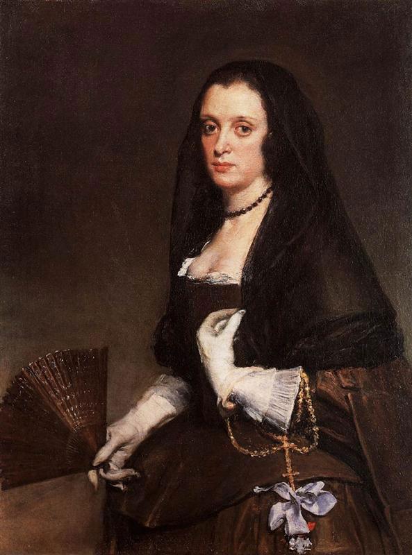 Diego Velasquez, «Η γυναίκα με τη βεντάλια», 1638-1639. Wallace Collection, Λονδίνο.