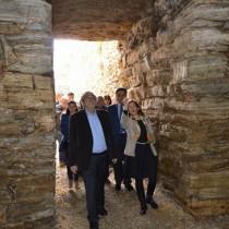 Επίσκεψη του Α. Μπαλτά σε αρχαιότητες του Δήμου Αχαρνών