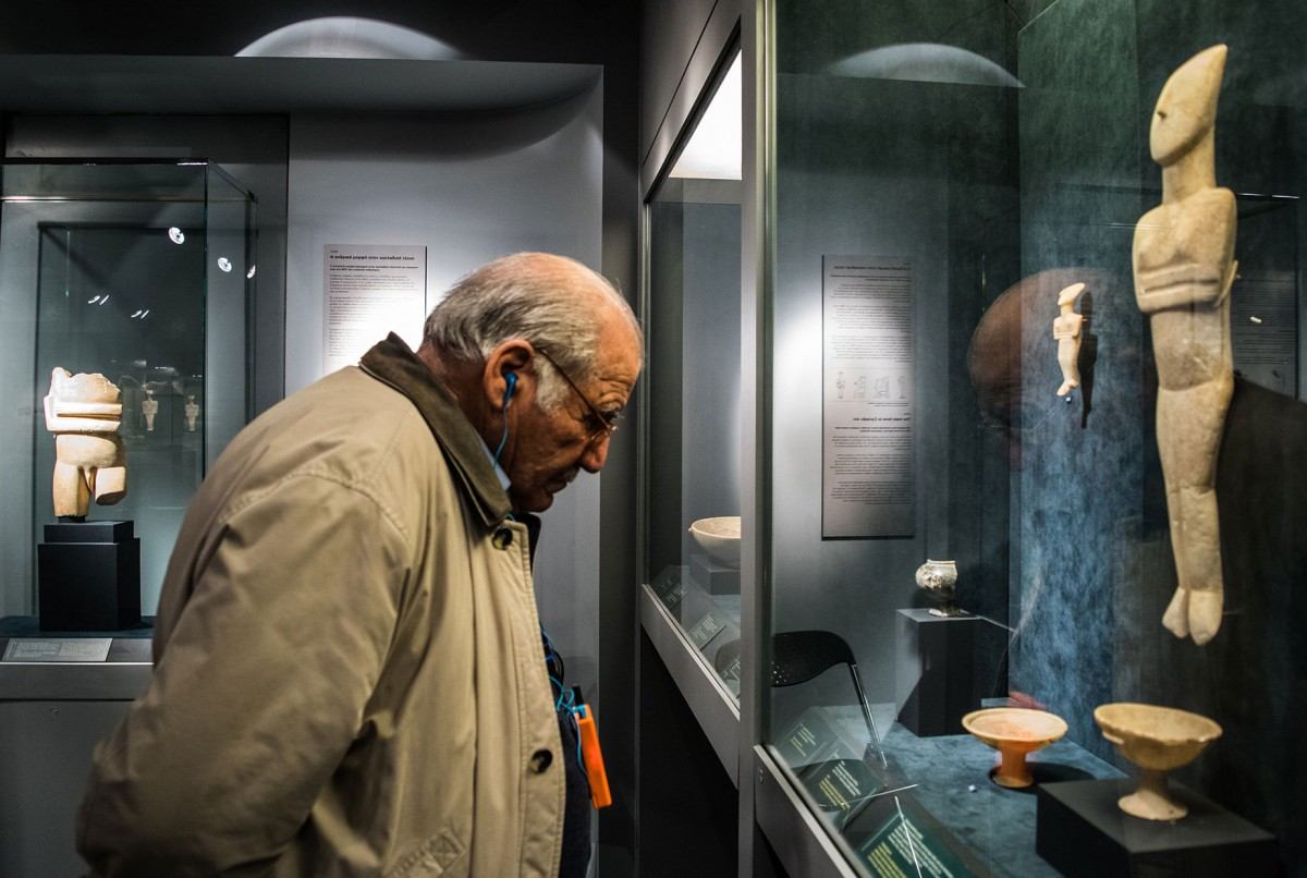 Στόχος του προγράμματος «Σοφή Παρέα στο Μουσείο» είναι τουλάχιστον 1.500 ηλικιωμένοι από τον Δήμο Αθηναίων να έχουν επισκεφθεί το Μουσείο μέχρι την ολοκλήρωσή του.