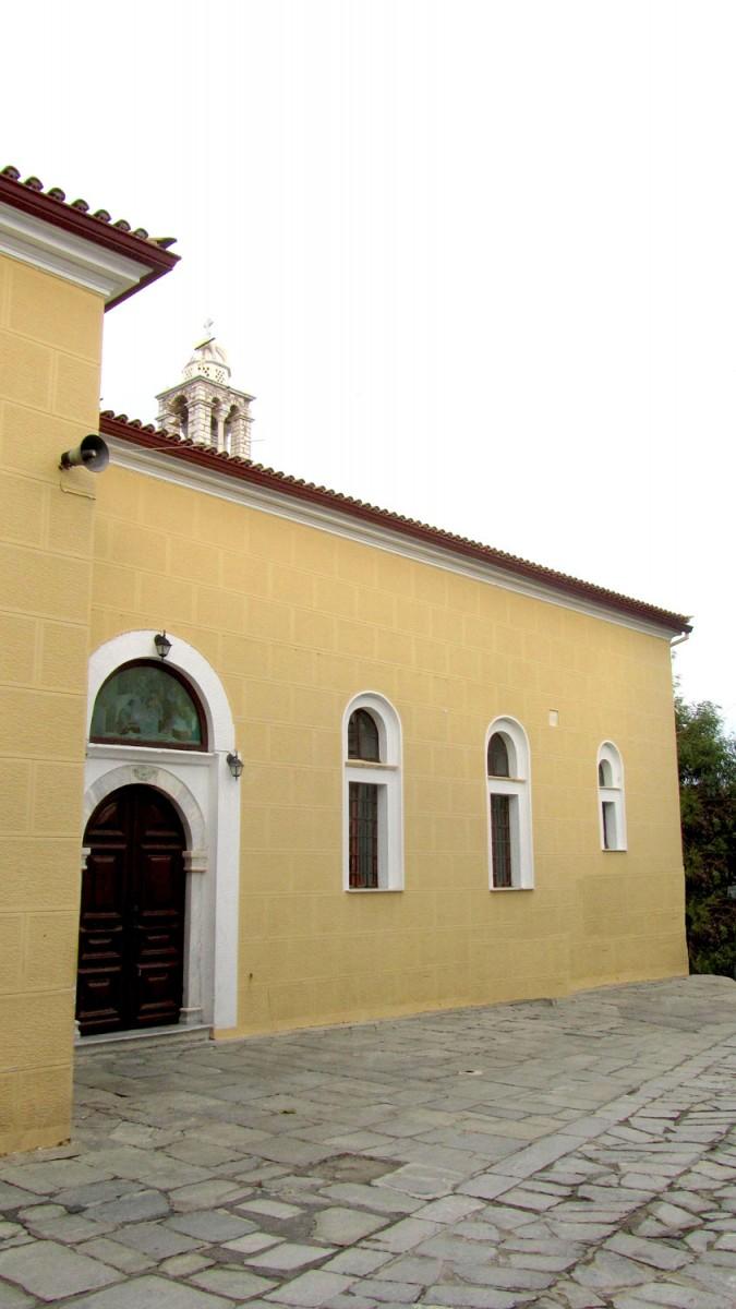 Εικ. 1. Η εκκλησία της Παναγίας της Λιμνιάς, στη Σκιάθο.