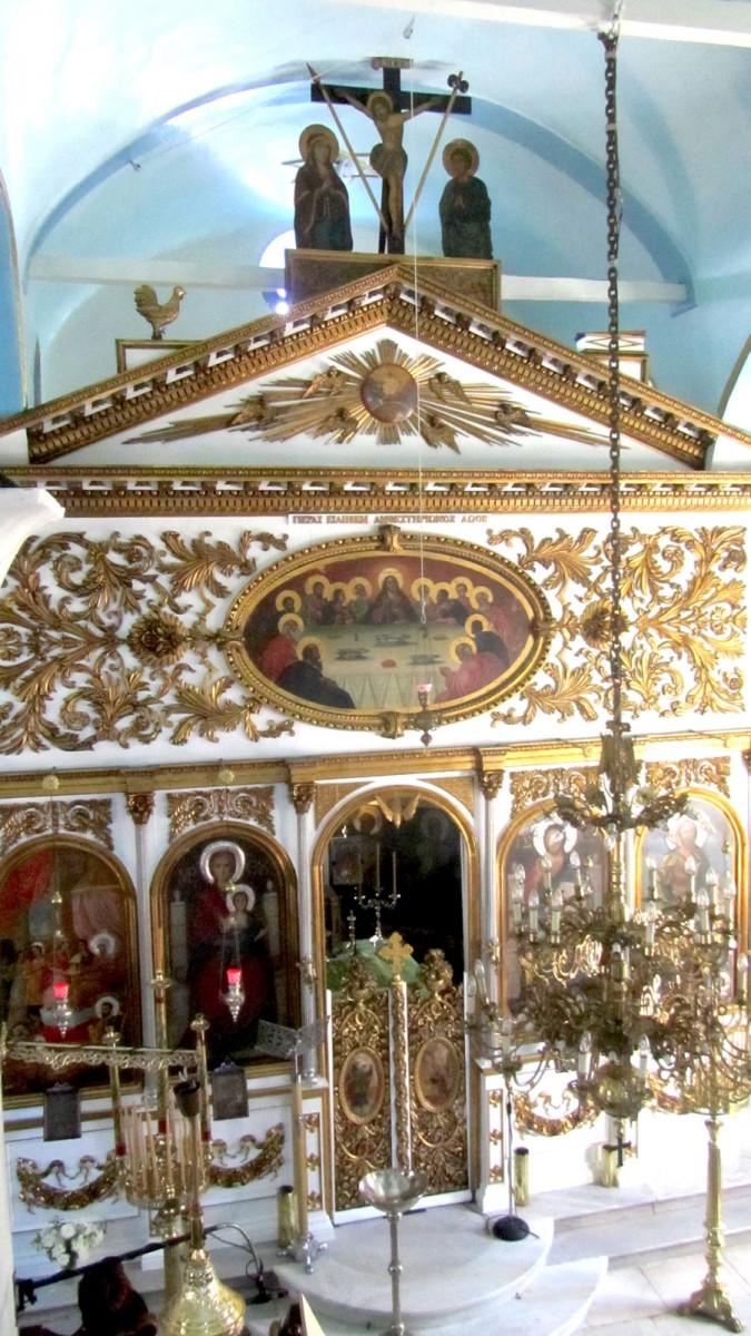 Εικ. 6. Άποψη του εσωτερικού της εκκλησίας.