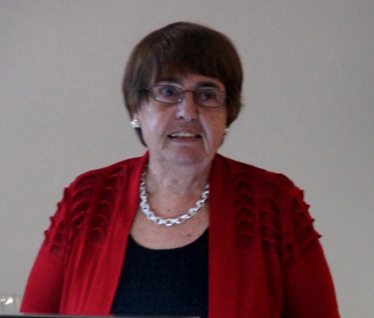 Εικ. 1. Η καθηγήτρια Όλγα Παλαγγιά