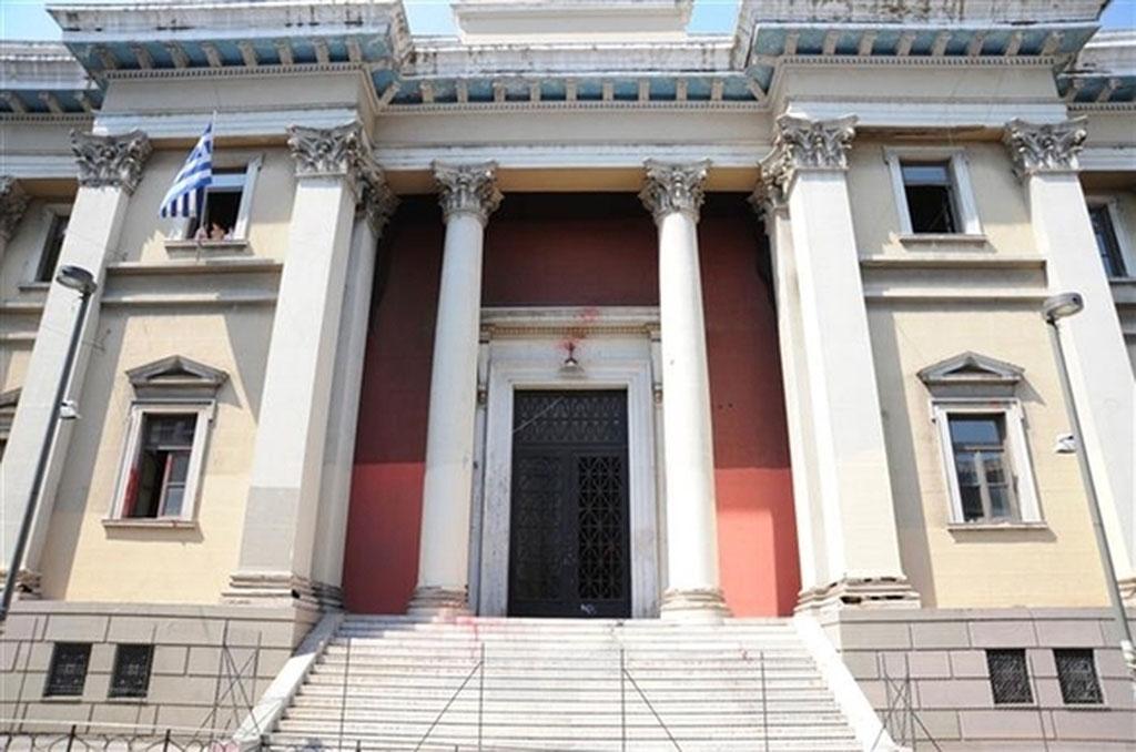 Το Δικαστικό Μέγαρο Πάτρας.