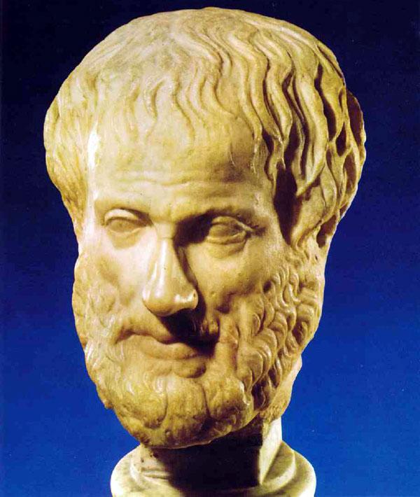 Εικ. 1. Ο Αριστοτέλης.