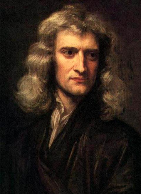 Εικ. 2. Ο Ισαάκ Νεύτων (1643-1727).