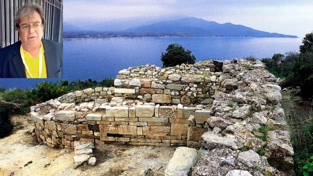 «Από την αρχή της ανακάλυψης του μνημείου υποψιάστηκα ότι είναι ο τάφος του Αριστοτέλη. Είχα, όμως, μερικές αμφιβολίες...», τόνισε ο κ. Σισμανίδης στο ΑΠΕ.