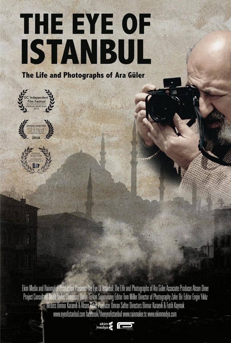 Η αφίσα του ντοκιμαντέρ «The Eye of Istanbul».