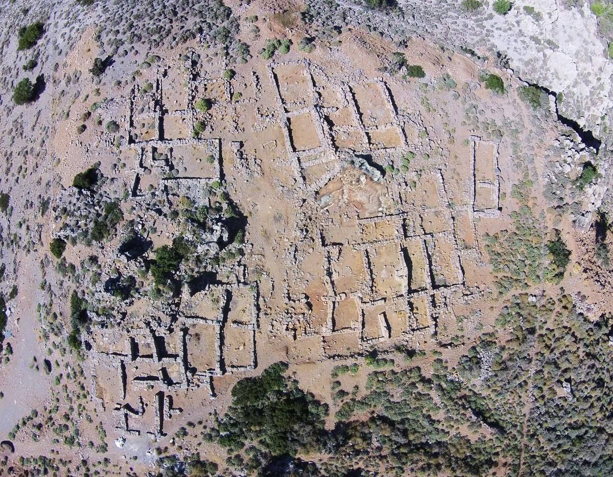 Εικ. 6. Ο οικισμός του Χαλασμένου.
