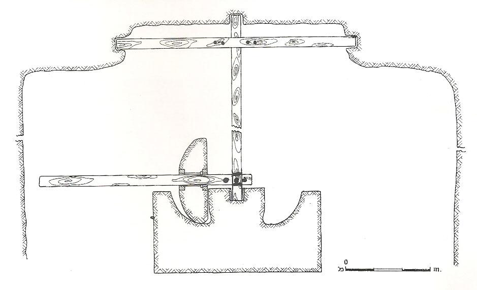 Σχέδιο 2. Σχεδιαστική αναπαράσταση mola olearia.