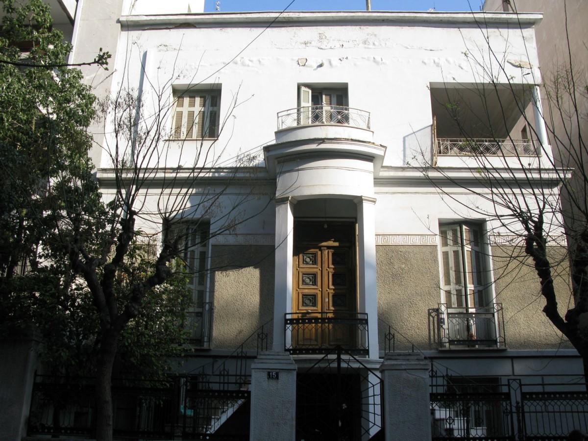 Το κτίριο πριν από την κατεδάφισή του (φωτ. ΑΠΕ-ΜΠΕ / Monumenta).