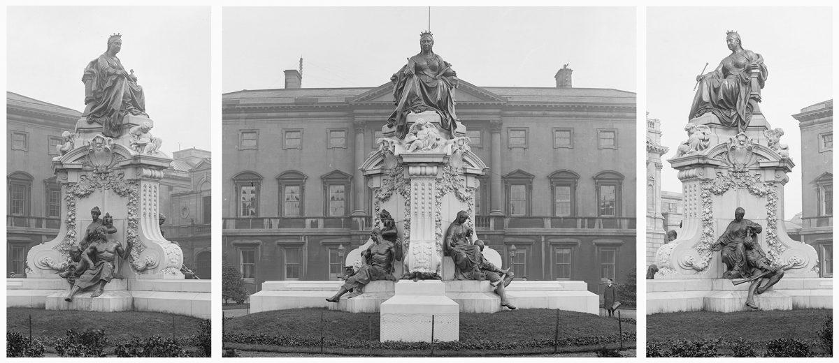 Εικ. 1. Το μνημείο της βασίλισσας Βικτωρίας στο Δουβλίνο (περ. 1910).