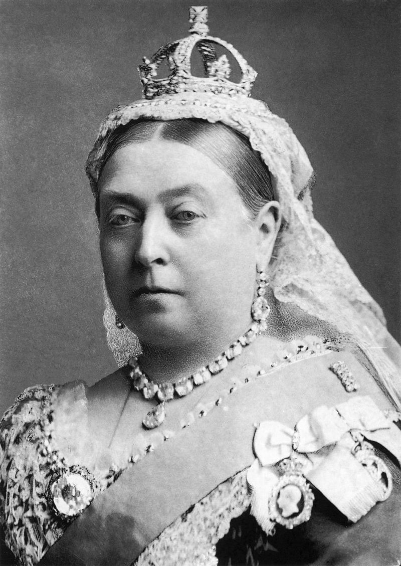 Εικ. 2. Η βασίλισσα Βικτωρία.